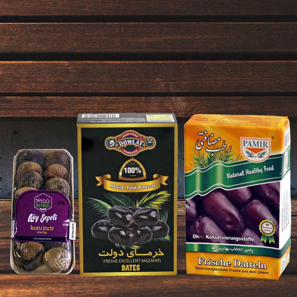 Trockenfrüchte & Datteln
